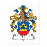 Escudo de la familia del Au Postal