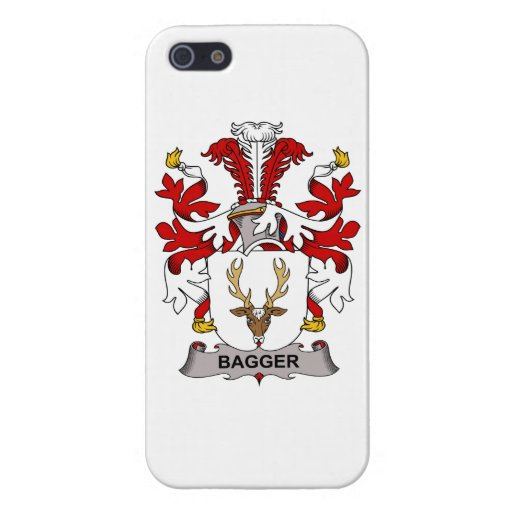 Escudo de la familia del Bagger iPhone 5 Cárcasa