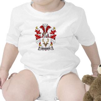 Escudo de la familia del Bagger Trajes De Bebé