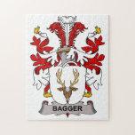 Escudo de la familia del Bagger Rompecabezas
