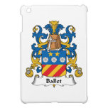 Escudo de la familia del ballet iPad mini carcasa