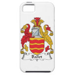 Escudo de la familia del ballet iPhone 5 funda