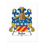 Escudo de la familia del ballet postal
