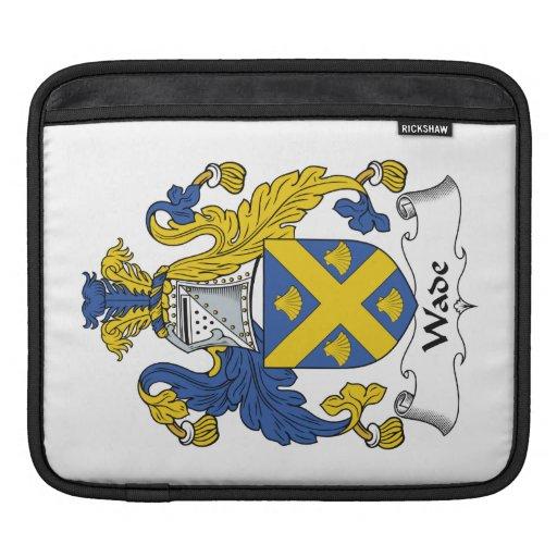 Escudo de la familia del bamboleo mangas de iPad