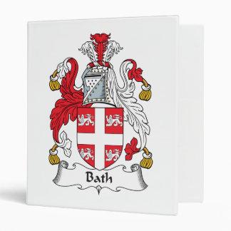 Escudo de la familia del baño