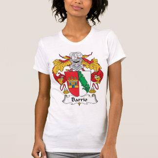 Escudo de la familia del barrio hispano camiseta