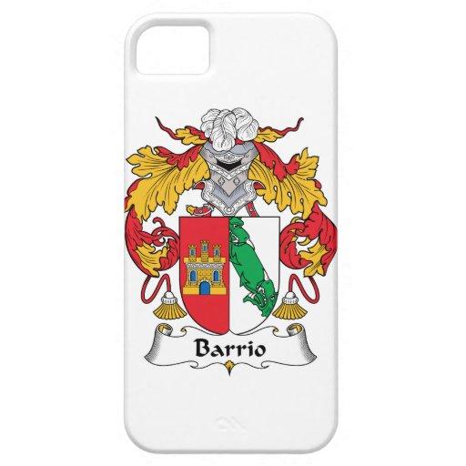 Escudo de la familia del barrio hispano iPhone 5 protectores