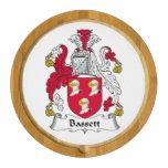 Escudo de la familia del Bassett