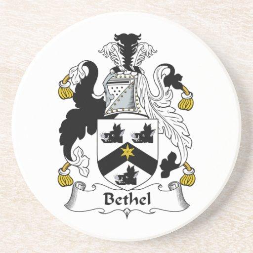 Escudo de la familia del Bethel Posavasos De Arenisca