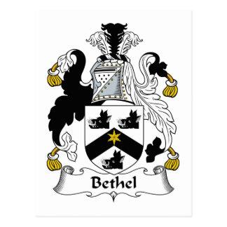 Escudo de la familia del Bethel Postal