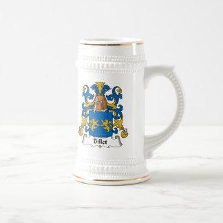 Escudo de la familia del billete jarra de cerveza