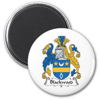 Escudo de la familia del Blackwood Imán Redondo 5 Cm