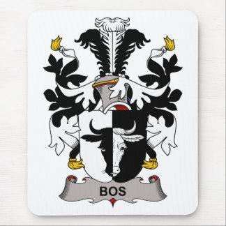 Escudo de la familia del Bos Alfombrillas De Ratones