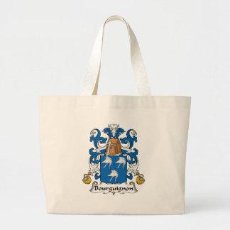 Escudo de la familia del Bourguignon Bolsas