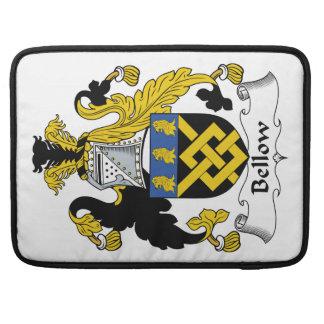 Escudo de la familia del bramido funda macbook pro