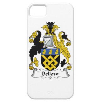 Escudo de la familia del bramido iPhone 5 cárcasa