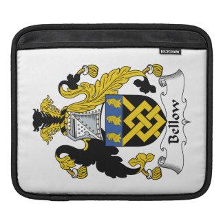 Escudo de la familia del bramido mangas de iPad