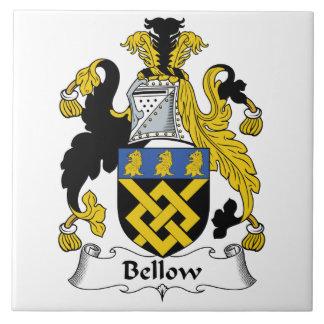 Escudo de la familia del bramido tejas