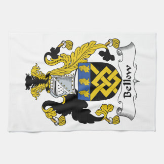 Escudo de la familia del bramido toalla