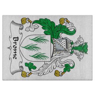 Escudo de la familia del Brome Tablas Para Cortar