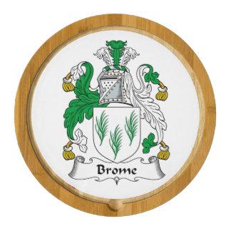 Escudo de la familia del Brome