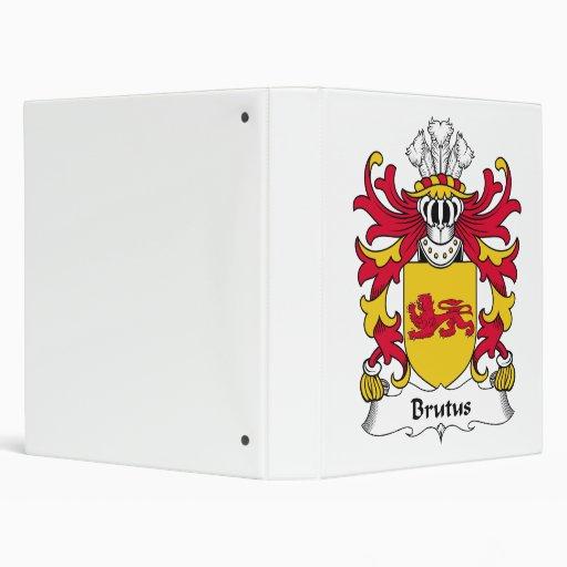 """Escudo de la familia del Brutus Carpeta 1"""""""