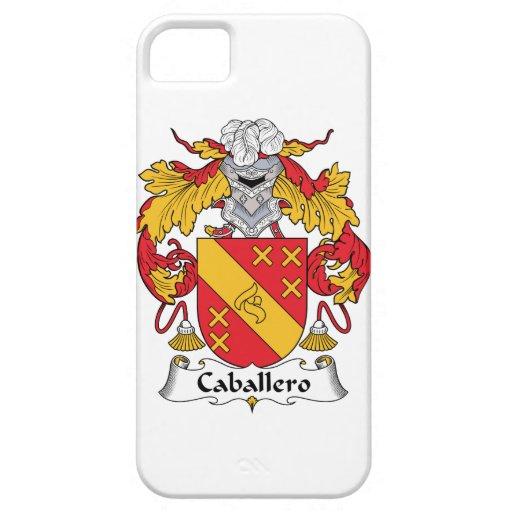Escudo de la familia del caballero iPhone 5 carcasas