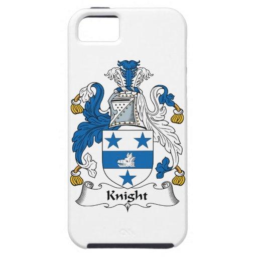 Escudo de la familia del caballero iPhone 5 Case-Mate cobertura