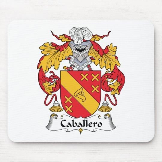 Escudo de la familia del caballero mouse pads