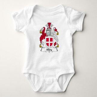 Escudo de la familia del callejón body para bebé