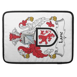 Escudo de la familia del carril fundas para macbook pro