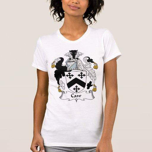 Escudo de la familia del Caw Camiseta