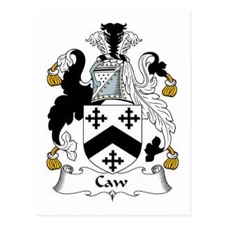 Escudo de la familia del Caw Postales