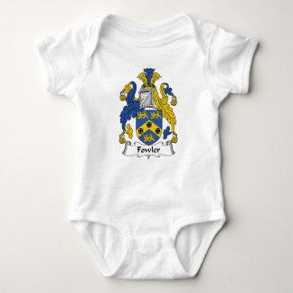 Escudo de la familia del cazador de aves body para bebé