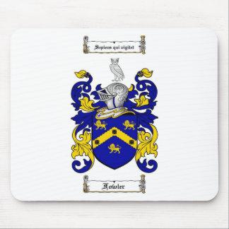 ESCUDO DE LA FAMILIA DEL CAZADOR DE AVES - ESCUDO ALFOMBRILLA DE RATON