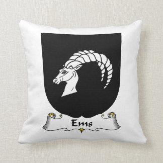 Escudo de la familia del ccsme almohadas