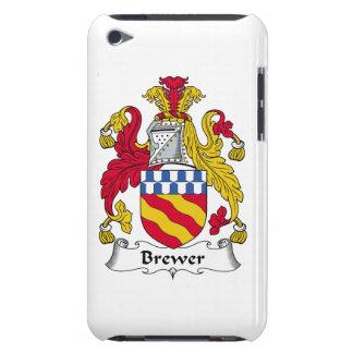 Escudo de la familia del cervecero iPod touch Case-Mate coberturas