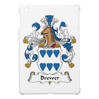 Escudo de la familia del cervecero iPad mini cárcasas