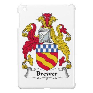 Escudo de la familia del cervecero iPad mini carcasa