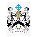Escudo de la familia del chapucero comunicado
