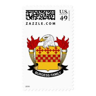 Escudo de la familia del ciudadano sellos