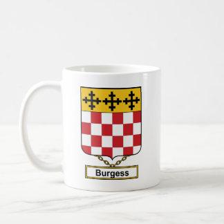 Escudo de la familia del ciudadano taza clásica