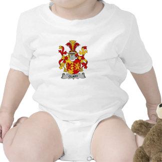 Escudo de la familia del Clary Traje De Bebé