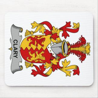 Escudo de la familia del Clary Alfombrilla De Raton