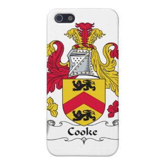 Escudo de la familia del cocinero iPhone 5 cárcasa