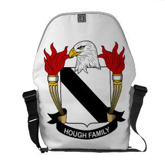 Escudo de la familia del corvejón bolsas de mensajería