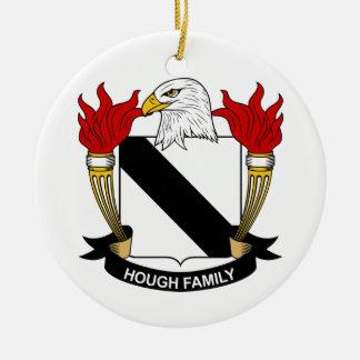 Escudo de la familia del corvejón ornamento de reyes magos