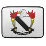 Escudo de la familia del corvejón funda para macbooks