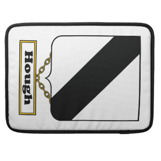 Escudo de la familia del corvejón fundas para macbooks