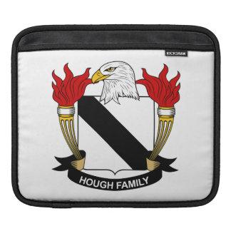 Escudo de la familia del corvejón mangas de iPad